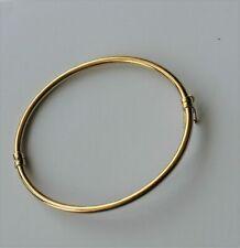 Bracelet jonc uni en or 375 9 carats de 375 de Malte Nouveau style
