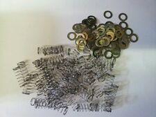 MILLS LOT OF 50 COMPRESSION SPRINGS MLB2735 & 100 THIN WASHERS MLB3723