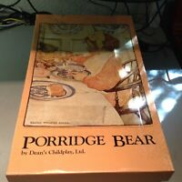 Dean's Childsplay Porridge Bear, Circa 1983, LE, Rare, New in Box