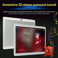 """10.1"""" Google Tablet PC Android 7.0 Quad Core 10 Inch HD WIFI Dual Sim 3G Phablet"""