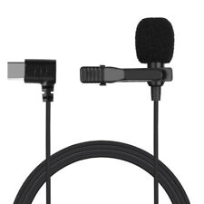 Lavalier Mic Lapel Clip-on Microphone for Samsung S8 9 10  Note 8 9 Huawei P30