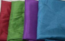 "China Silk HABOTAI Fabric Set - Victorian Colors 9""x22"" Each"