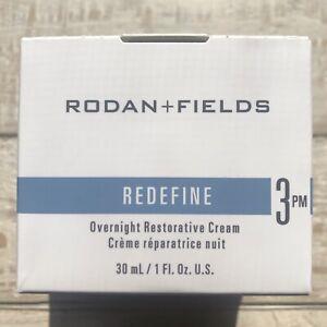 Rodan + Fields REDEFINE Step 3 PM Overnight Restorative Cream 💙 New & Full Size