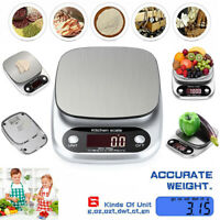 3/5/10kg Kitchen Digital Scale LCD Electronic Balance Food Weight Postal Scales