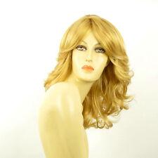 Perruque femme mi-longue blond clair doré ELISE LG26