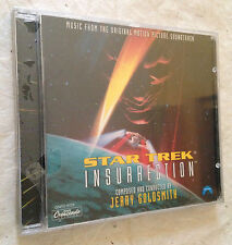 CD STAR TREK INSURRECTION THE BATTLE FOR PARADISE HAS BEGUN JERRY GOLDSMITH