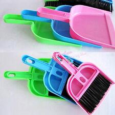 Mini Dustpan &Brush Whisk Dust Pan Desk Table Top Keyboard Netbook Handy Cleaner