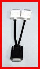 DMS-59 to Dual DVI Y Video Splitter Cable Dell H9361 Molex New