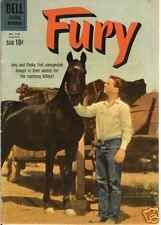 RARE DELL COMIC FURY AUG-SEPT. 1960 #1133