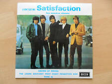 """The ROLLING STONES ,""""Satisfaction"""" ,ep Decca / Barclay."""