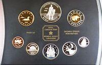 1998 Canada Proof Set- 125th ANN RCM Silver Dollar in Presentation Folder w/ COA