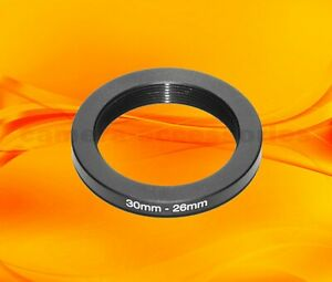 30mm to 26mm 30-26 Stepping Step Down Filter Ring Adapter 30-26mm 30mm-26mm (UK)