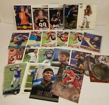 Lot of 20 + 1 NFL Football Rookie Trading Cards Michael Vick JJ Watt Von Miller