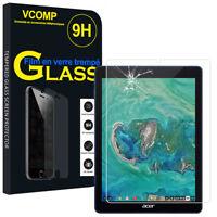 """Lot/ Pack Film Verre Trempe Protecteur d'écran Acer Chromebook Tab 10 D651N 9.7"""""""