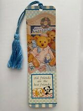 VTG 1994 Quality Artwork Bookmark Carol's Bears Old Friends are Best Friends