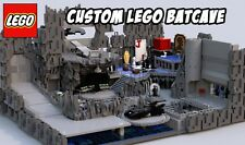 Custom Lego Batcave -- Lego Digital Designer File Only (LXF) -- Instructions MOC