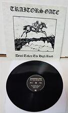 Traitors Gate Devil Takes The High Road Black Vinyl LP Record new
