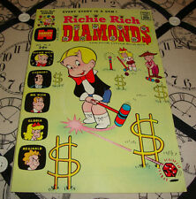 Richie Rich Diamonds #8 (Oct 1973) Bronze Age Harvey Comics VF Condition