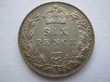 1906 Sixpence NEF