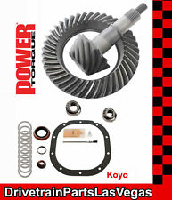 "Power Torque Ford 8.8"" 10 Bolt 3.55 Ring and Pinion Gear Set Pinion Install Pkg"