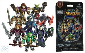 MEGA BLOKS WORLD OF WARCRAFT SERIES 1 SDCC 2013 MINI FIGURE MYSTERY PACK 91100