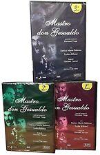 3 Dvd Sceneggiati Rai MASTRO DON GESUALDO con Enrico Maria Salerno completa 1964
