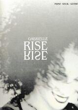 "Gabrielle: ""Rise"". Piano, Vocal, Guitar."