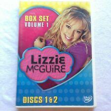 Lizzie McGuire Box Set Volume One  2 DVDs Disney Episodes 7-11