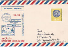 East Germany 1970 20th anniversary of World Airmail Service cover Unused VGC