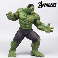 "Super Hero The Avengers Age Of Ultron Green Hulk 22.5cm/9"" PVC Statue Figure NB"