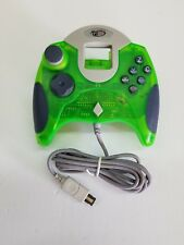 NEW Clear Green Official licenced Sega Dreamcast Dreampad Controller Control Pad