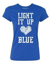 Light It Up Blue Autism Awareness Women's T-shirt