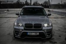 Black Matt Front Performance Central Grill For BMW X5 E70