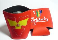 CARLSBERG BEER World Cup 2018 Russia CAN COOLER SLEEVE Red SPAIN