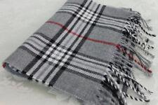 John Ashford Classic Plaid Winter Check Scarf Stocking filler RRP$42 BNWT