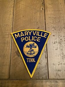 Vintage Maryville Police Department Patch Mint Condition *