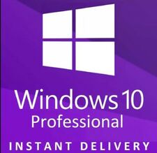 WINDOWS 10 PRO 32/64 BIT GENUINE PRODUCT KEY + INSTANT DELIVERY