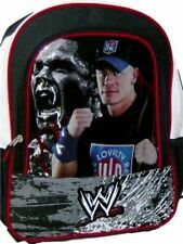 "WWE Backpack New John Cena Hustle Loyalty Respect 15.5"" x 12"" x 4"" NEW w Tags"