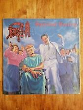 DEATH SPIRITUAL HEALING LP VINYL RARE DEATH METAL ROCK 1990 Under One Flag