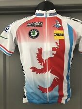 25a966d79 BIO-RACER Short Sleeve Jersey From Luxembourg National Cycling Team NEW!