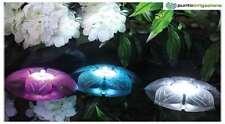 Fiore galleggiante faretto laghetto Sicce mod. FLOWER LED TRIO 3,5W x 3