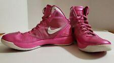 Nike Zoom Hyperdunk 2011 Pinkfire White Silver 454138-602 Shoe Size10.5
