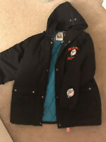 vintage miami dolphins NFL Game Day puff jacket