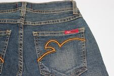 NEW Apple Bottoms Women's Low Rise Bootcut Blue Jeans Size 2