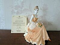 "Coalport Figurine Figure Statue Sculpture ""Artisan's Choice 2001"" Limited Rare"