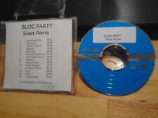 RARE ADV PROMO Bloc Party CD Silent Alarm ALGIERS Young Legionnaire PIN ME DOWN