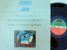 Modern Jazz Quartet US Reissue LP Collaboration NM Atlantic SD1429 Jazz Almeida
