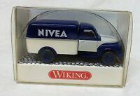 Wiking 1:87 0345 51 Hanomag Diesel Kastenwagen NIVEA neuwertig erhalten mit OVP