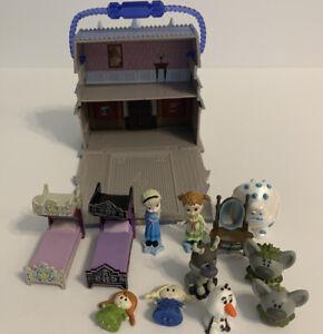 Disney Frozen Animators Collections Arendelle Castle Littles Playset & Figures