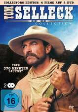 TOM SELLECK COLLECTION Crossfire Trail SABER RIVERThe Sacketts LASSITER DVD Box